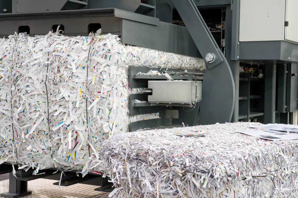 Residential shredding service company