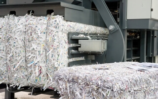 Residential shredding service company