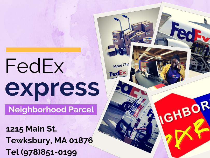 FedEx Tewksbury MA
